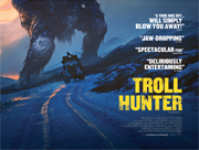 Troll Hunter movie quad poster