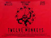 12 Monkeys movie quad poster
