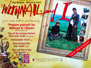 Withnail and I film quad poster