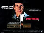 Witness movie quad poster