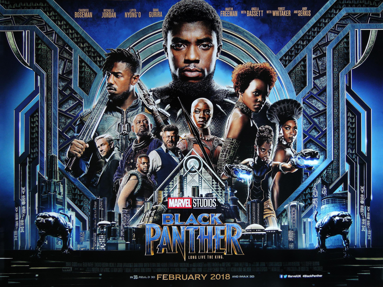 Black Panther Black-panther-quad-poster